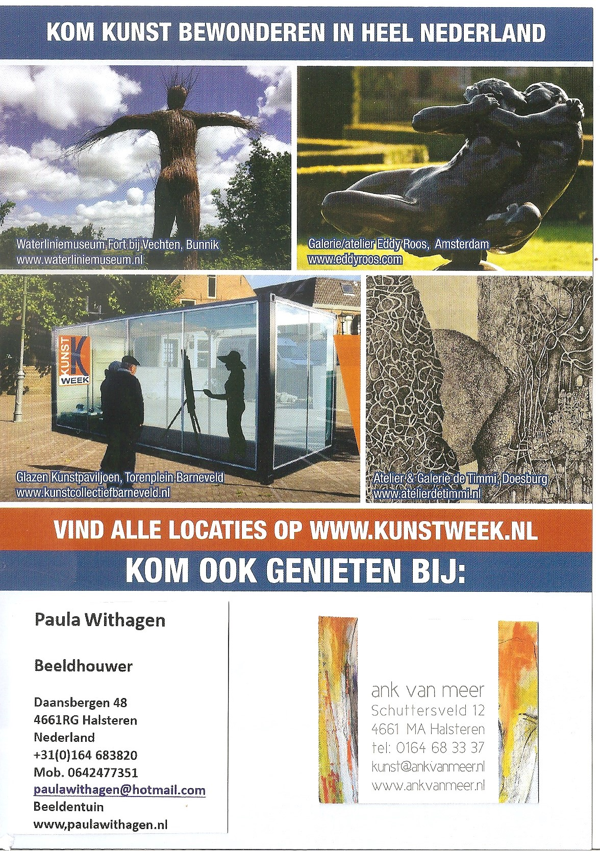 Deelname Kunstweek 2018